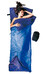Cocoon Tropic Traveler Sleeping Bag Silk Long royal blue/tuareg